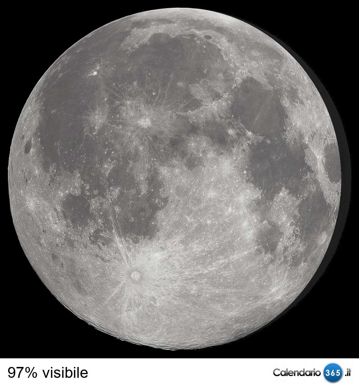 Il cielo del mese  Luna_0_97
